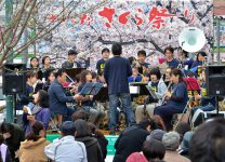【さがみ野さくら祭り】に出演。(2019/03/31).